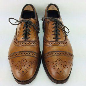 Allen Edmonds Men's Size 8 D Strand Brogue Walnut
